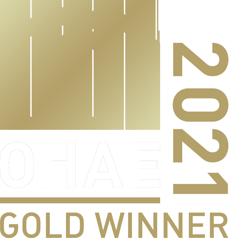 Okanagan Housing Awards of Excellence Gold Winner 2021 badge image